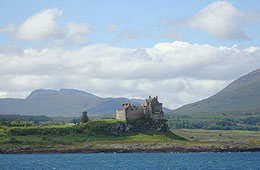 Duart Castle on Mull, ancestral home of the Clan Maclean