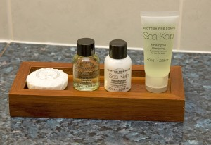 * New soap products*