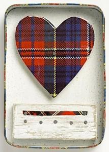 Tartan Heart by Hannah Tofts
