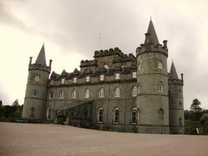 Inveraray Castle - seat of Clan Campbell