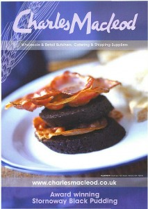 black pudding advert