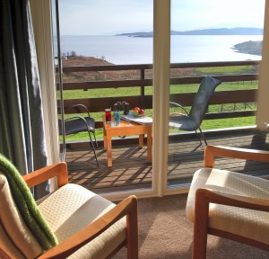 Enjoy free wi-fi from your Cedar Wing bedroom at Loch Melfort Hotel